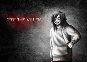 Jeff the Killer Wallpaper by garnetbarren