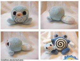 Mini Poliwag Pokedoll by Swadloon