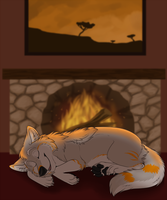 Let sleeping wolves lie by Starwuff