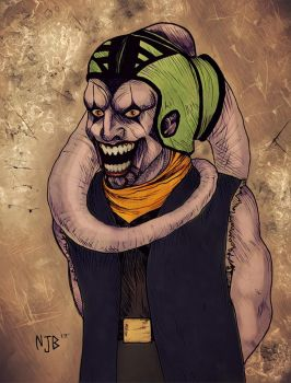 Sith Lord Joker Concept by TheSithLordJoker