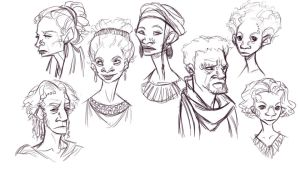 Southern Faces by Edriss