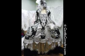 Rococo Costume by CastleCorsetry