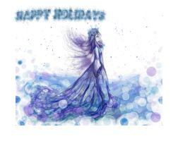 Frosty Holiday Wish by silverbeam