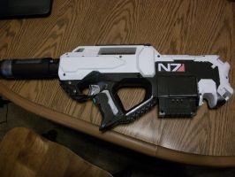 N7 SMG Finnished by Frost-Claw-Studios