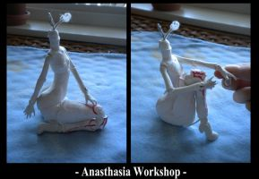 Le Robot - Body - Double joints test- by AnasthasiaWorkshop