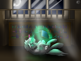 Bookwright reading [Commission] by SpeedyandRose