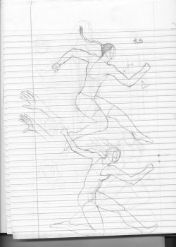Running/Jumping People by Xennius