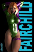 Caitlin Fairchild by Radamantis3d