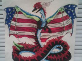 AmericanBlackSerpent's new form! by AmericanBlackSerpent
