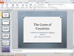 The game of Countries by jashinfollower0001