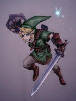 Hero of Time - Link by digitalTouch