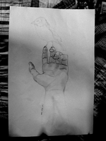 Hand study WIP by GraphixS6