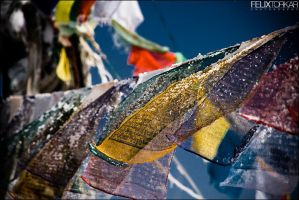 Tibetan Prayer Flags by FelixTo
