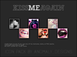Kiss Me Again Icon Pack by britsnpieces