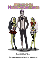 The Screw sisters and Skell Tony by Izumii89