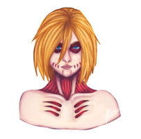 Female Titan by God-idk