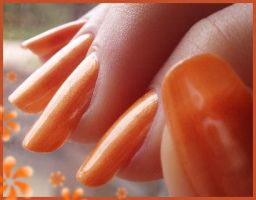totally tangerine by Tartofraises