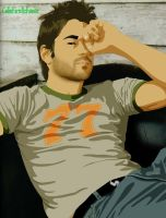Colin Farrell :: Vector by LeoLeus