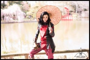Asami Cosplay: Zen Pond by Mink-the-Satyr