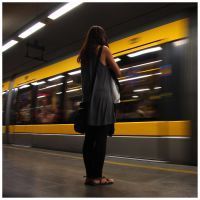 metro girl by joaosemcor