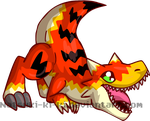 Petsite-Allosaurus by Inkblot-Rabbit