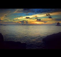 goodbye sunset by iyodeh