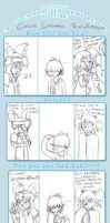 Crazy OC Meme Remix - Side Character Style by tomato-rabbit