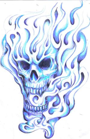 Tattoos Skulls on Art Of Tattoo  Amazing Skull Tattoos Especially Skull Smoke Tattoo