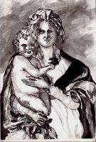 madona and child by zeintle