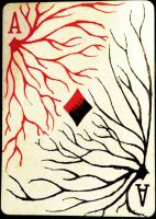 Ace of Diamonds - Conflict by CardCemetary