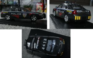 K9 police  model car by NightrazeShadow