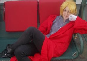 Edward Elric cosplay 2 by karutimburtonfan