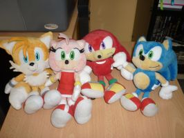 My sonic team by Sedna93