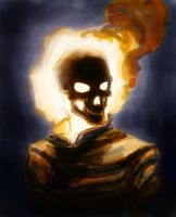 Ghost Rider Colour layout by AndrewKwan