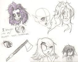 sketches :D by colorwonders