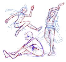 Practice-Poses by T3hb33