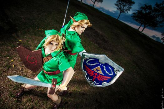 LoZ OoT: A Child of Destiny, A Hero of Time! by Kaallisi