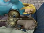 Samus and Zelda sleeping together 1 by Hypnowalker