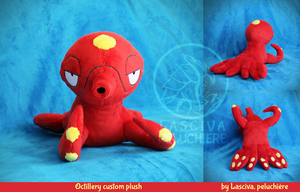 Octillery custom plush
