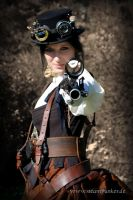 Steampunk Outfit by CountessvonOverlock