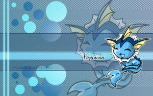 Vaporeon Wallpaper by Brittani752