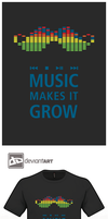 Design Challenge - Music Makes it Grow by mantarosan