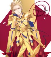 Fate/zero Archer:Gilgamesh by jeren07