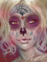 skull candy babe by selenatopham
