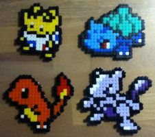 My first Pokemon Hama Beads :D by Nidoran4886