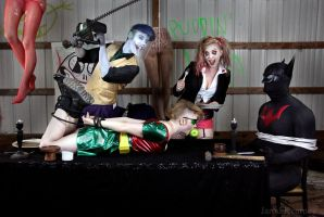 Harley and Mr. J's Dinner Party by jarodkearney