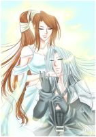 FF7: Mother and Son by DarkLitria