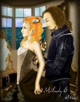 3 Musketeers-Milady and Athos by LostRiddle