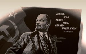 Lenin will Live by max-n0d3