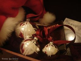 Sonata Arctica Christmas Balls by LoneSpiritWolf